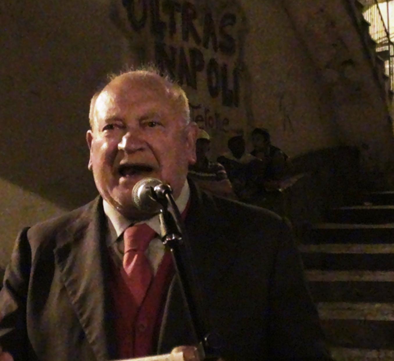 Domenico Savio durante il suo intervento