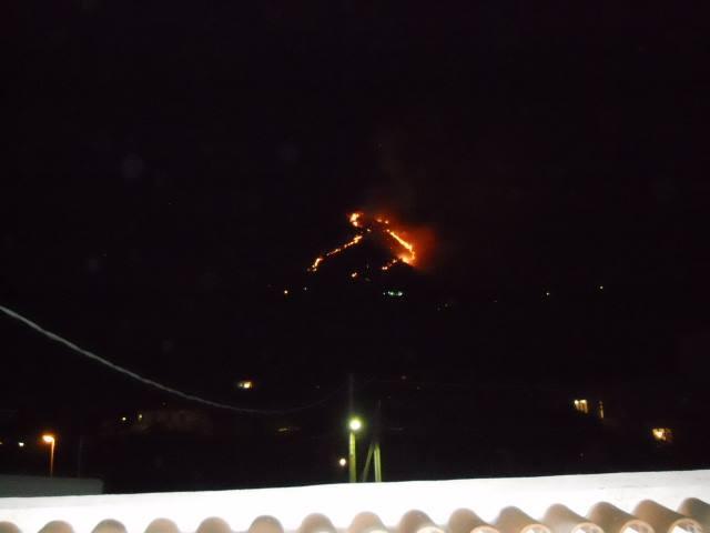 Incendio Epomeo Radiotreccia