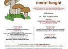 Locandina funghi 2015